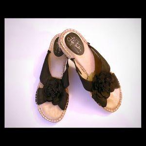 Life stride wedge sandals
